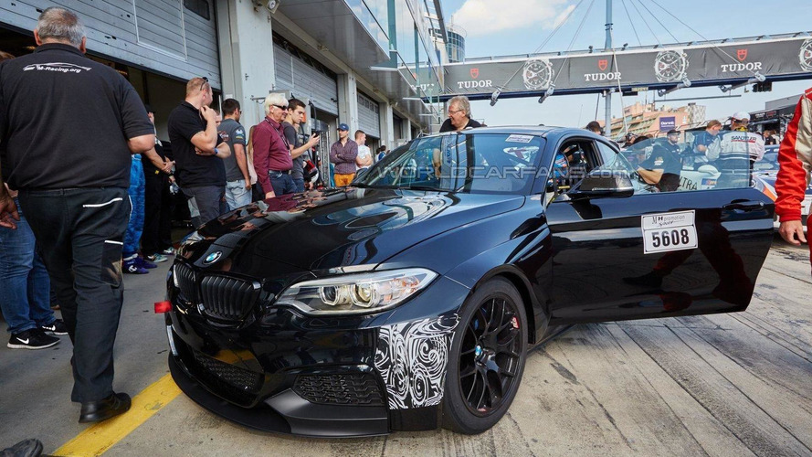 2016 BMW M235i Racing / Racing Cup spied up close