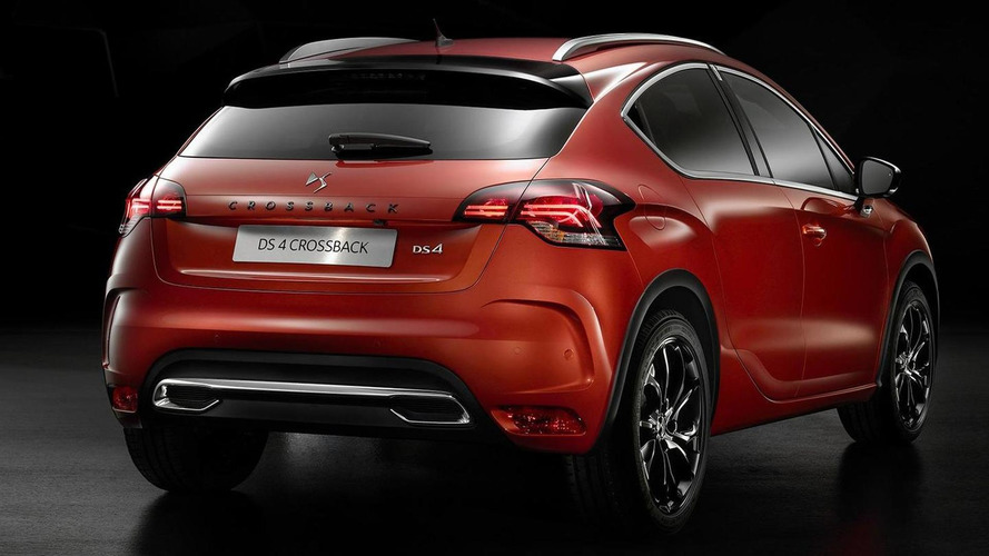 DS 4 facelift officially revealed with new Crossback version