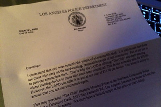 LAPD's Ridiculous Answer to This
