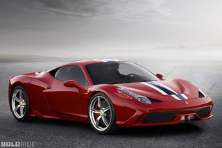 Ferrari 458 Speciale Spider Limited to 458 Units