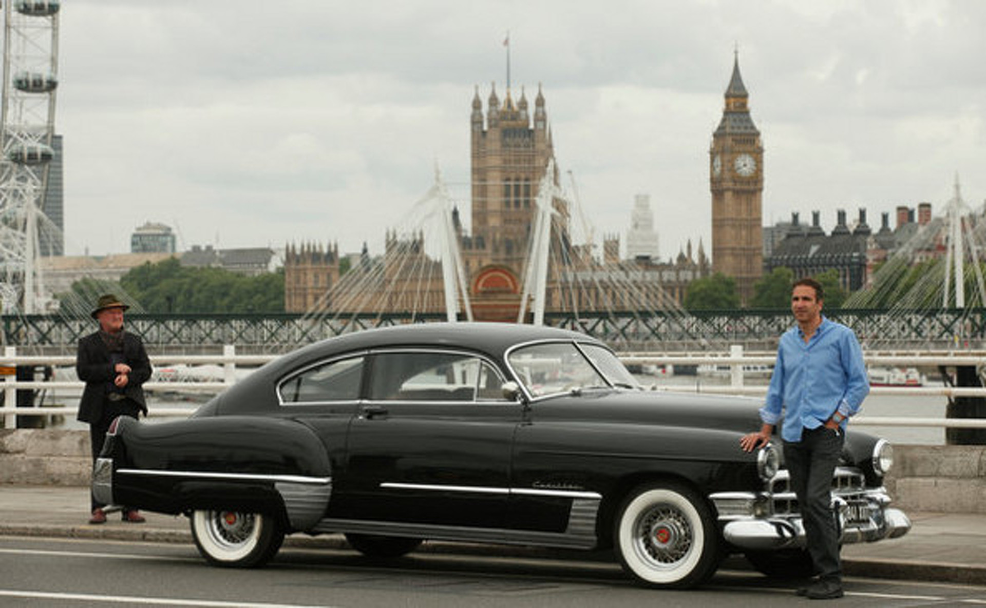 An American Dragster in London