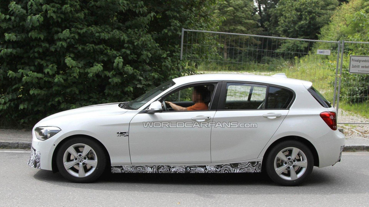 2012 BMW 1-Series with M-Sport-Package spied 04.08.2011