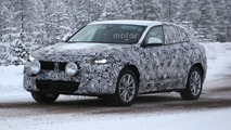 2017 BMW X2 returns in new spy photos