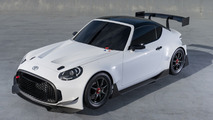 Toyota S-FR prepared as racing concept for Tokyo Auto Salon