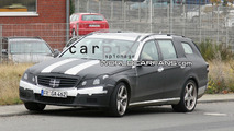 Mercedes E 63 AMG Wagon Spy Photo