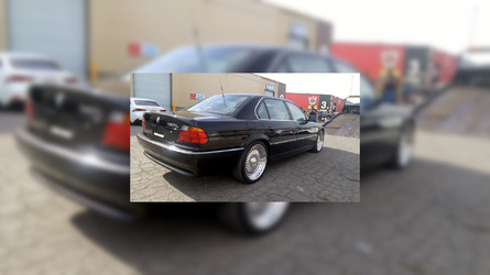 BMW 750iL in which Tupac was shot for sale at $1.5 million