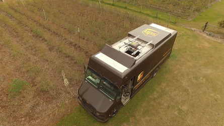 UPS tests van-mounted drone delivery system