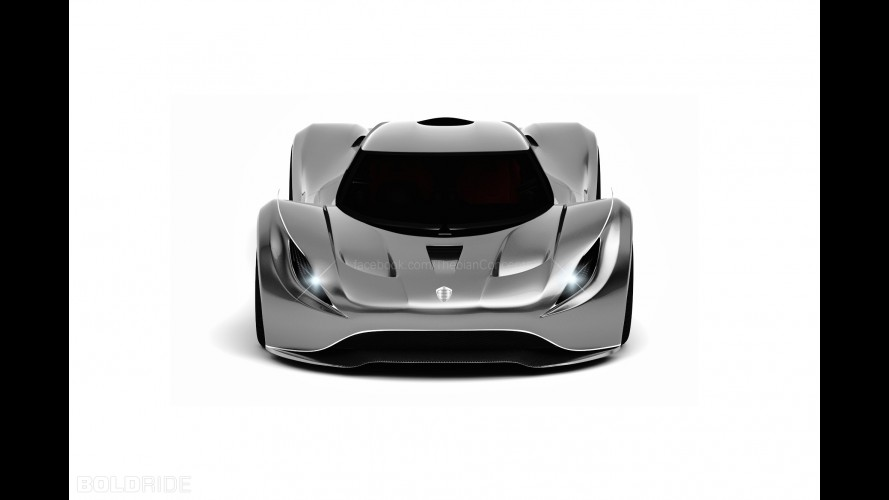Koenigsegg Rage Concept by Thebian Concepts