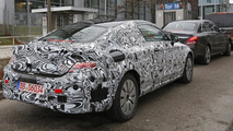 2016 Mercedes C-Class Coupe spied for the first time