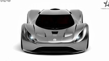 Koenigsegg Rage renderings show a sexy look for future entry-level model