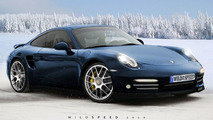 2011 Porsche 911 artist rendering based on WCF spy photo - 717 - 24.03.2010
