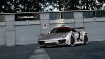 Porsche 918 Coupe racecar artist rendering in base livery, 1024, 31.12.2010