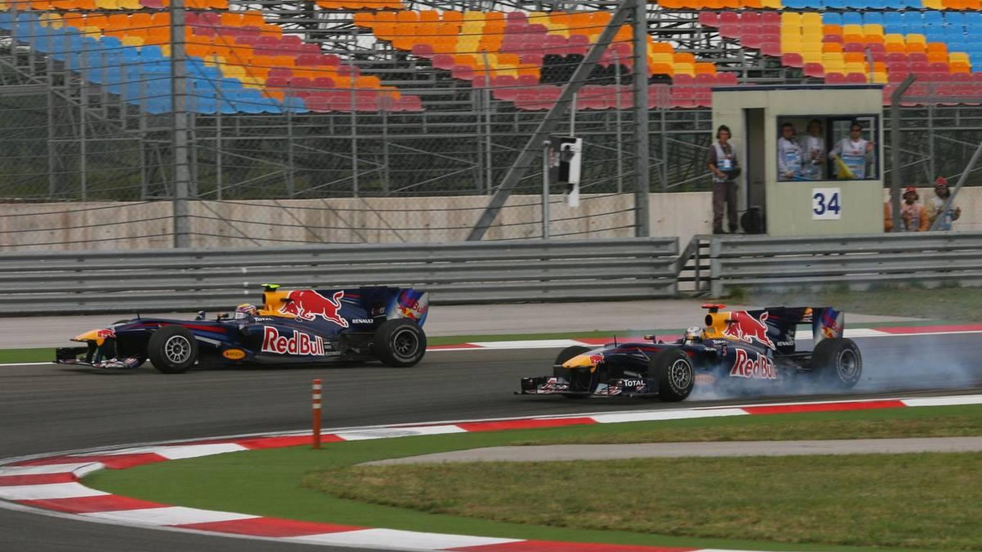 Crash 'excellent marketing' for Red Bull - Coulthard
