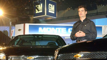 Jeff Gordon With 2006 Monte Carlo and Impala