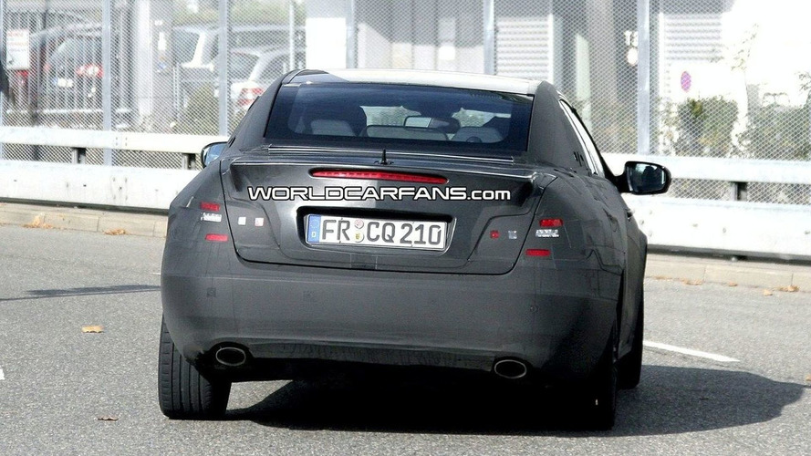 Mercedes CLK / E-Class Coupe Convertible Spied for First Time