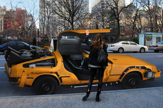 Great Scott! DeLorean Taxi Brings Us Back to 1985