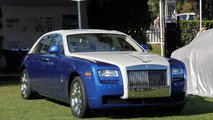 One-off 2013 Rolls-Royce Ghost showcased at Pebble Beach