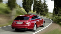 Mercedes CLS Shooting Brake leaked official image