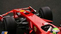 Ferrari wing in action