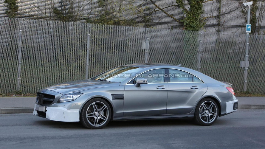 2015 Mercedes-Benz CLS 63 AMG facelift spied once again