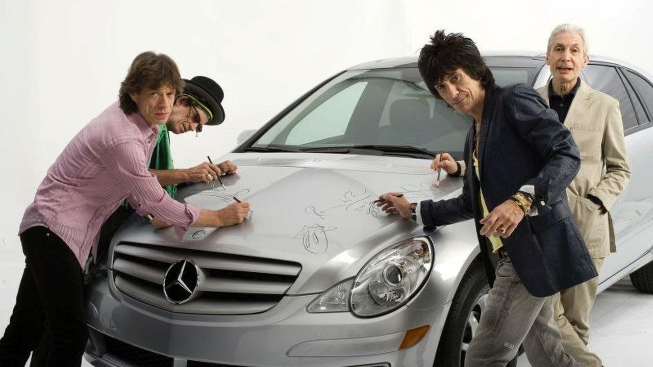 Rolling Stones signature Mercedes-Benz R-Class