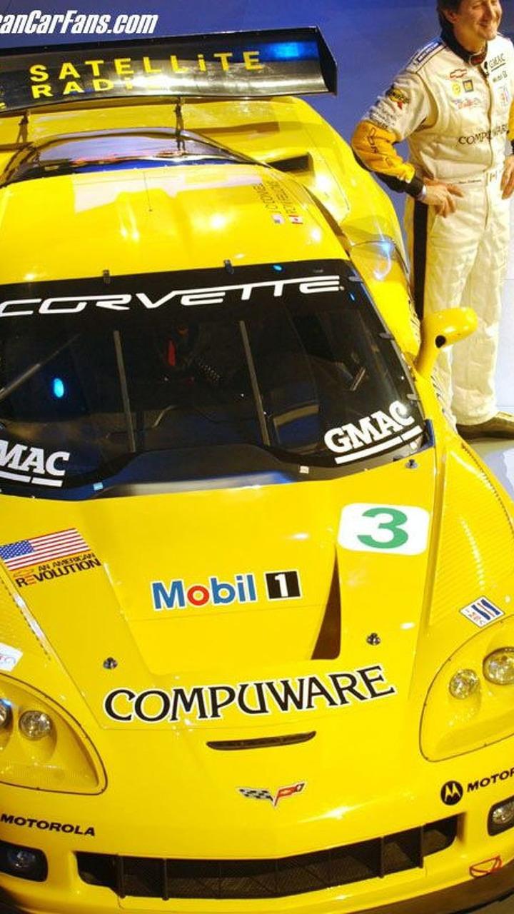 Corvette C6-R Race Car at NAIAS 2005