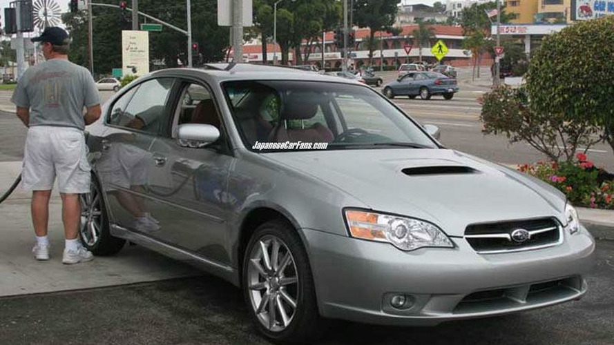 Subaru Legacy R spec B Spy Photos