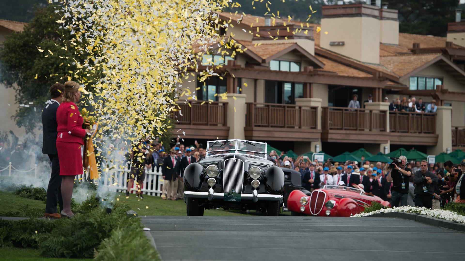 1936 Lancia Astura Pininfarina Cabriolet named Best In Show at Pebble Beach
