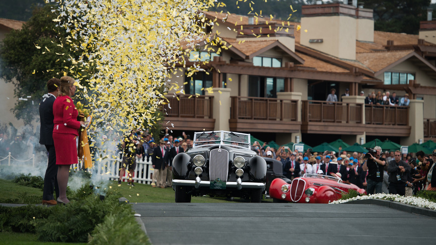 1936 Lancia Astura Pininfarina Cabriolet named Best In Show at Pebble Beach