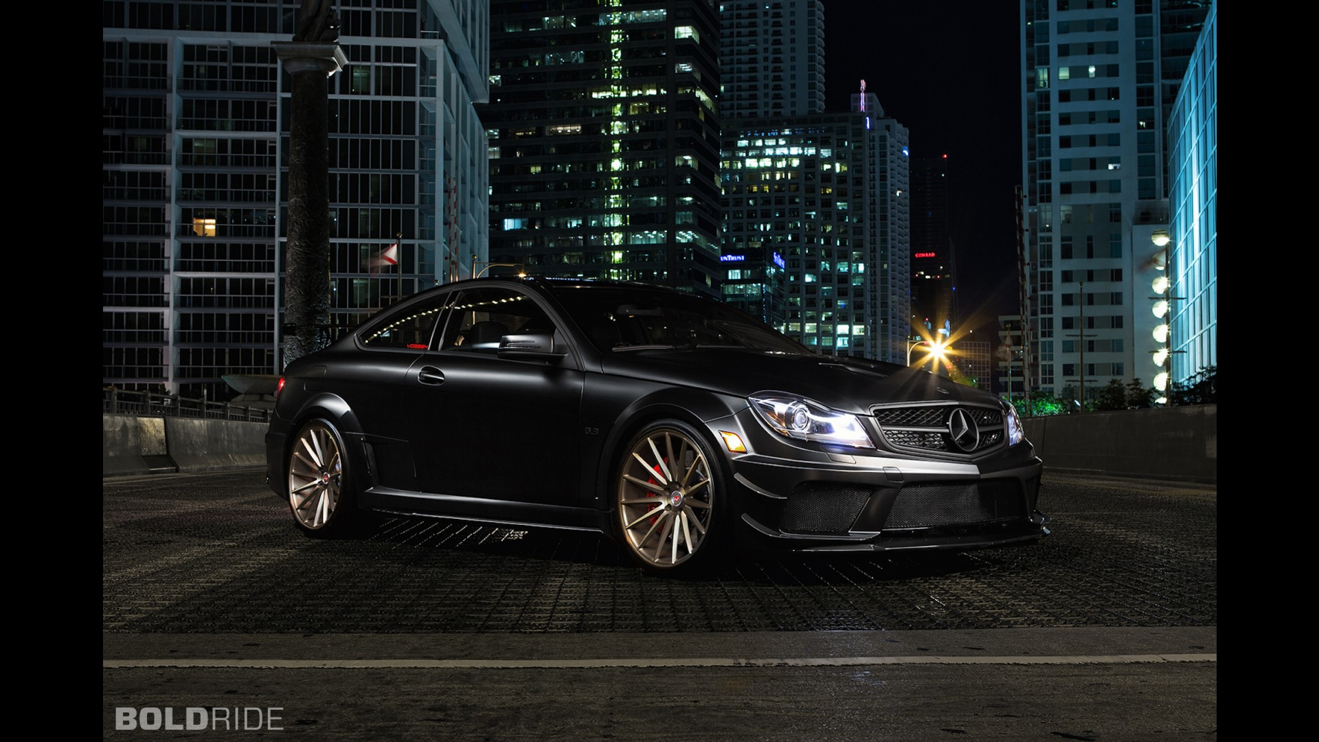 Vossen Mercedes-Benz C63 AMG Black Series