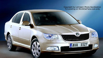 SPY PHOTOS: New Skoda Superb - Artist Impression