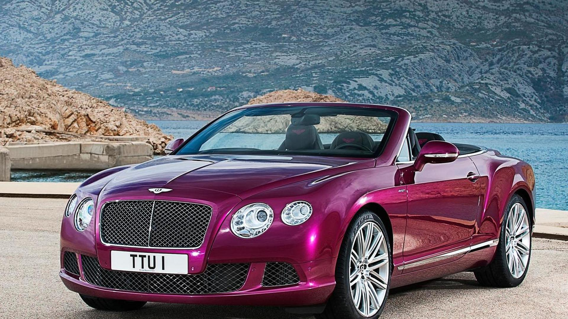Bentley Continental GT Speed Convertible leaked