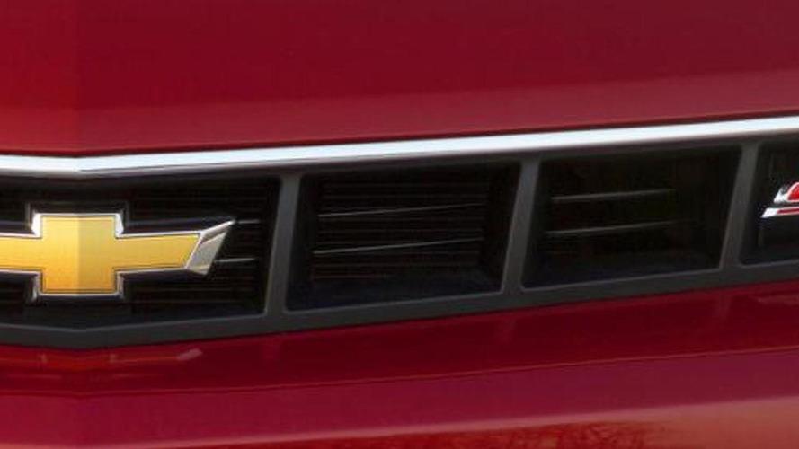 2014 Chevrolet Camaro SS teased