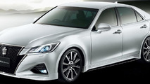 Toyota spices up Crown facelift with TRD goodies