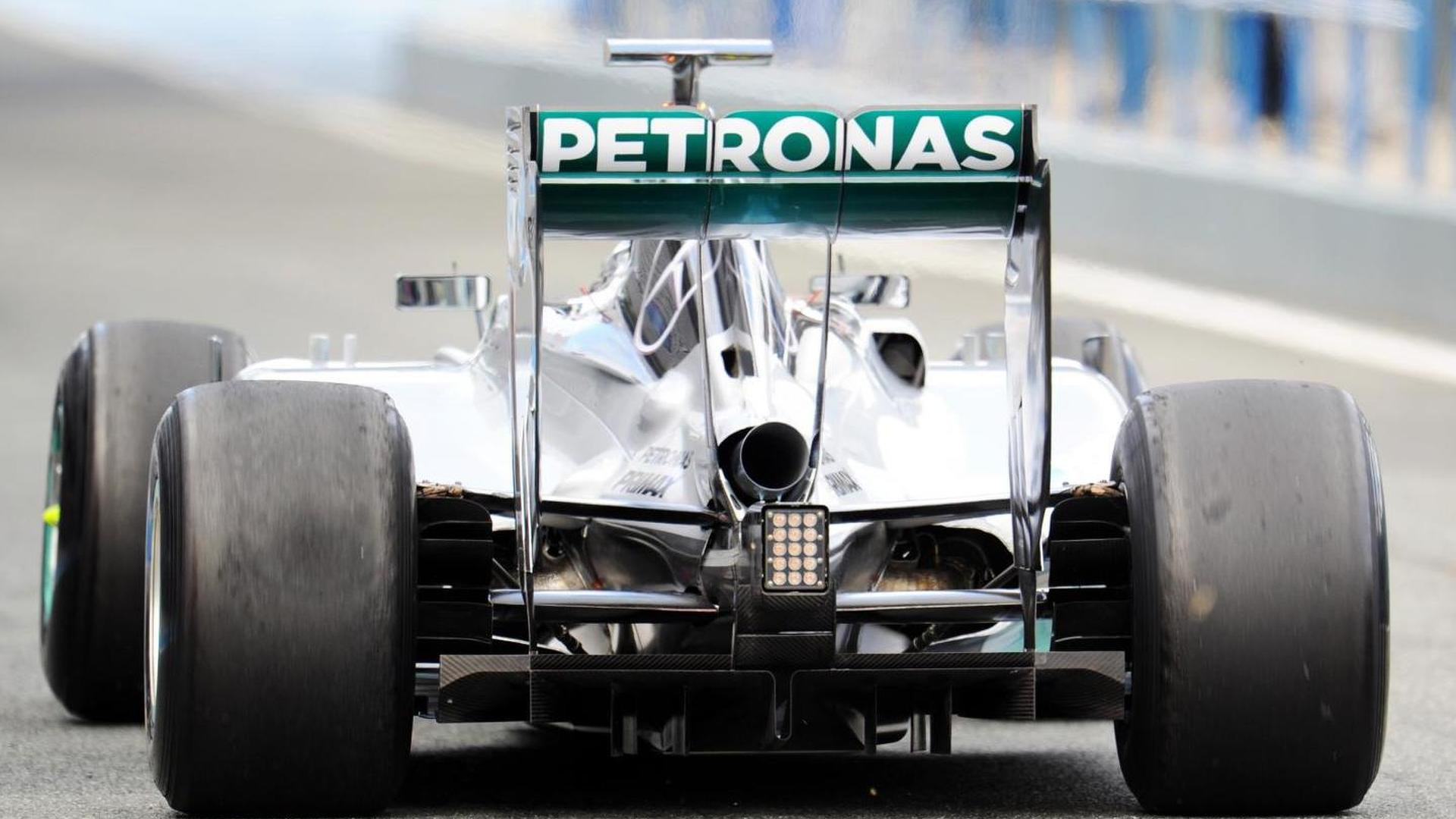 Mercedes secret is 'double diffuser' of 2014