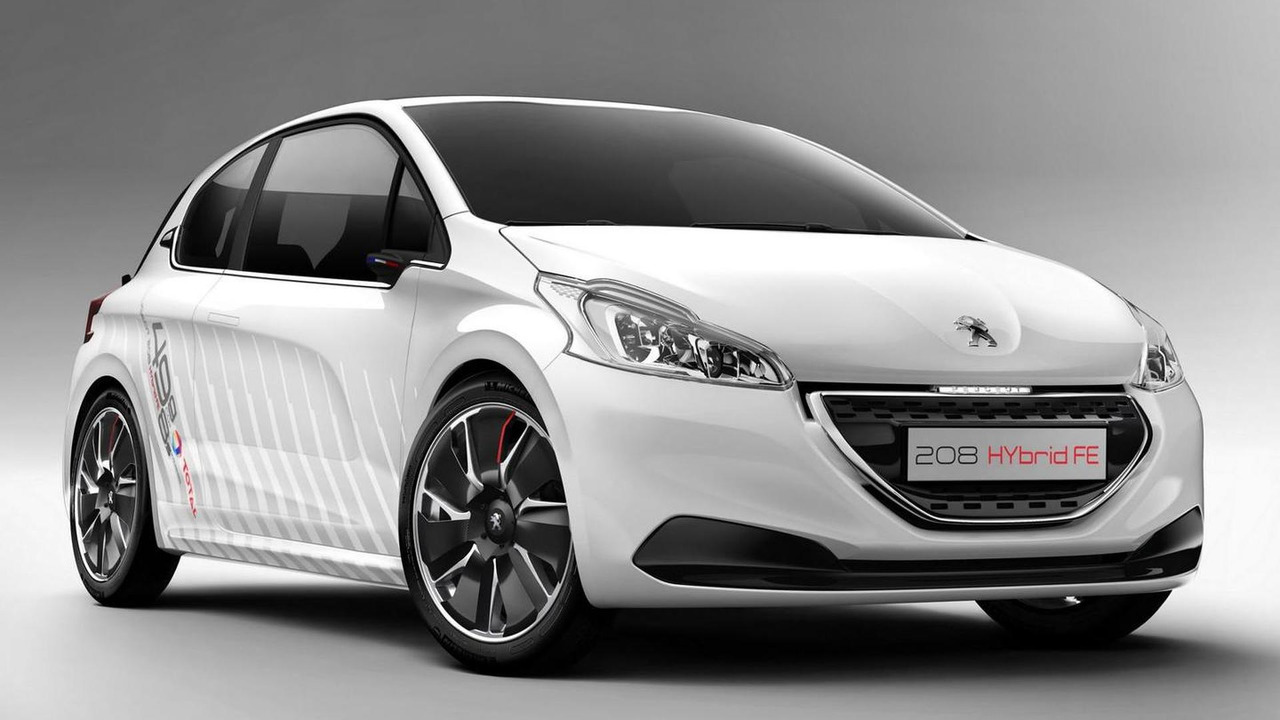 Peugeot 208 Hybrid FE Concept 26.08.2013