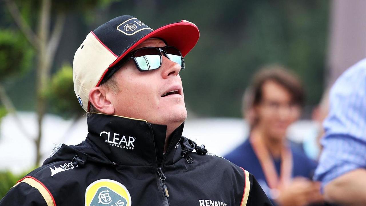 Kimi Raikkonen (FIN) Lotus F1 Team