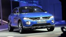 Volkswagen T-ROC concept live in Geneva