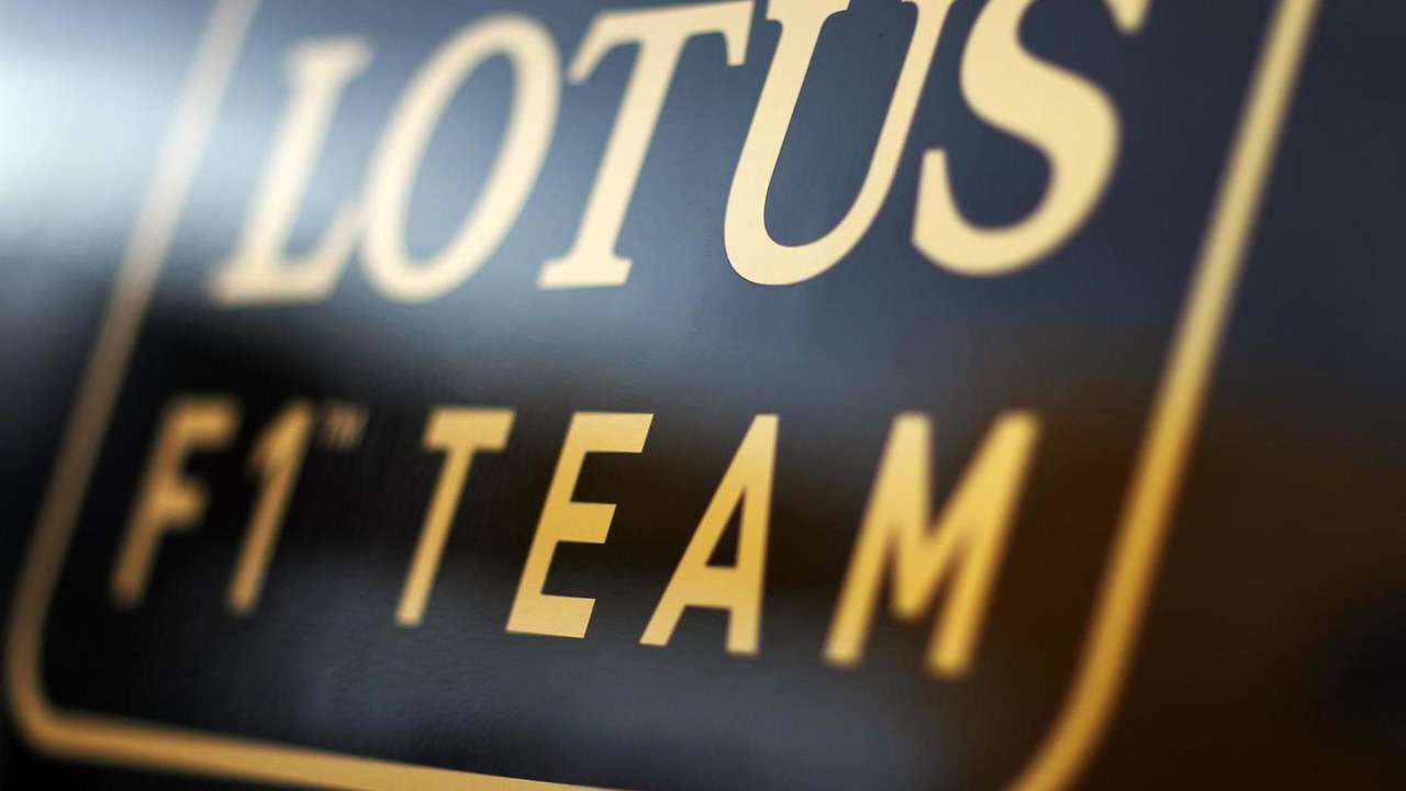 Lotus F1 Team logo 01.03.2013