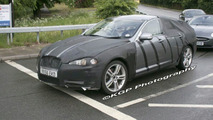 Jaguar XF spy photo