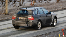 BMW 3 Series Hybrid Touring with X1 Front End Spied in Norway