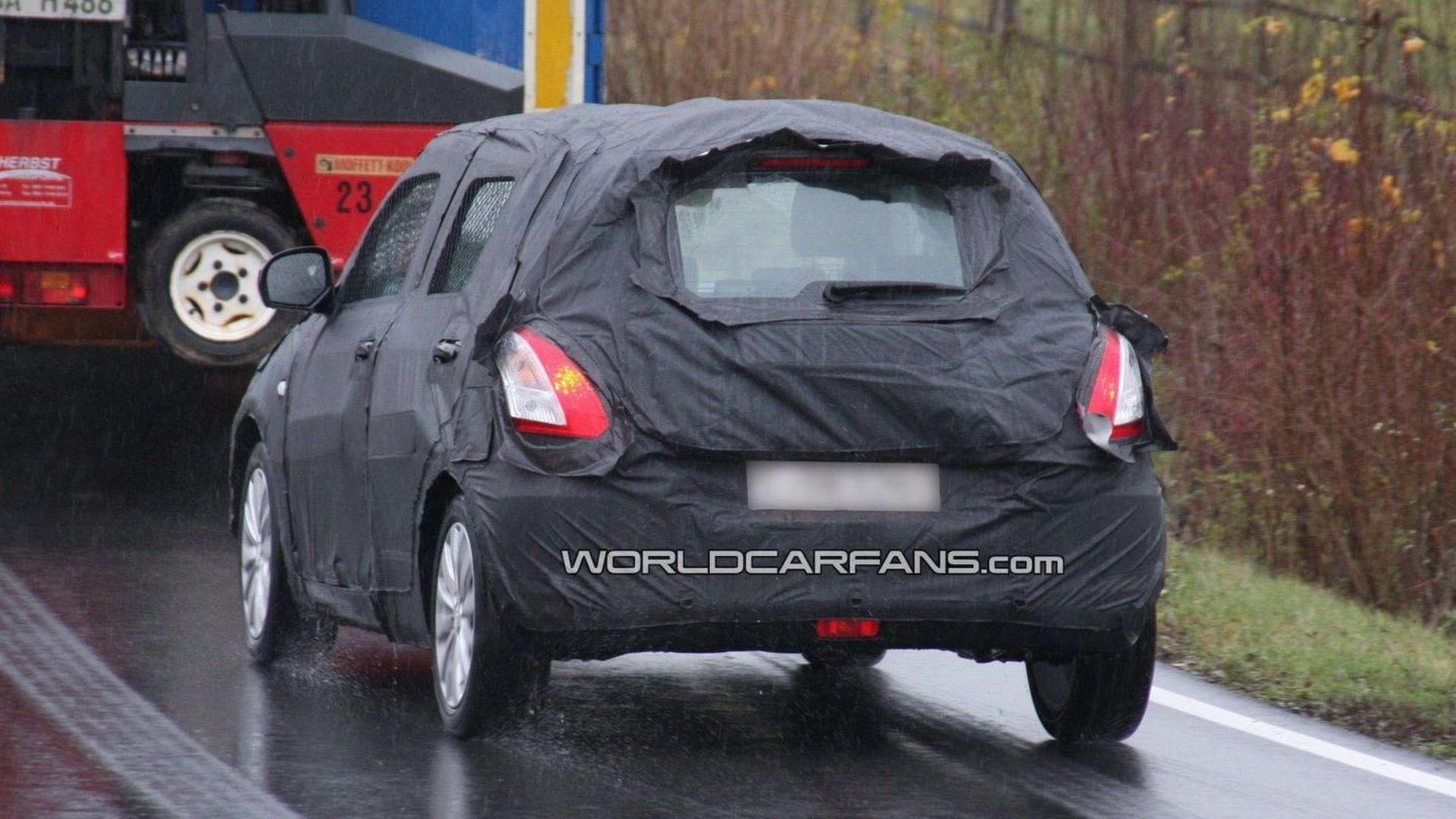 2011 Suzuki Swift Latest Spy Photos in Germany