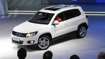 2012 Volkwagen Tiguan facelift live in Geneva - 01.03.2011