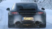 2012 Porsche 911 spied winter testing 12.01.2011
