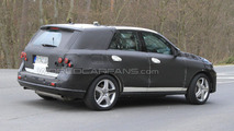 2012 Mercedes ML AMG first spy photos 12.04.2010