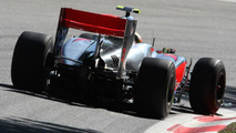 McLaren strong at Monza with big rear wing