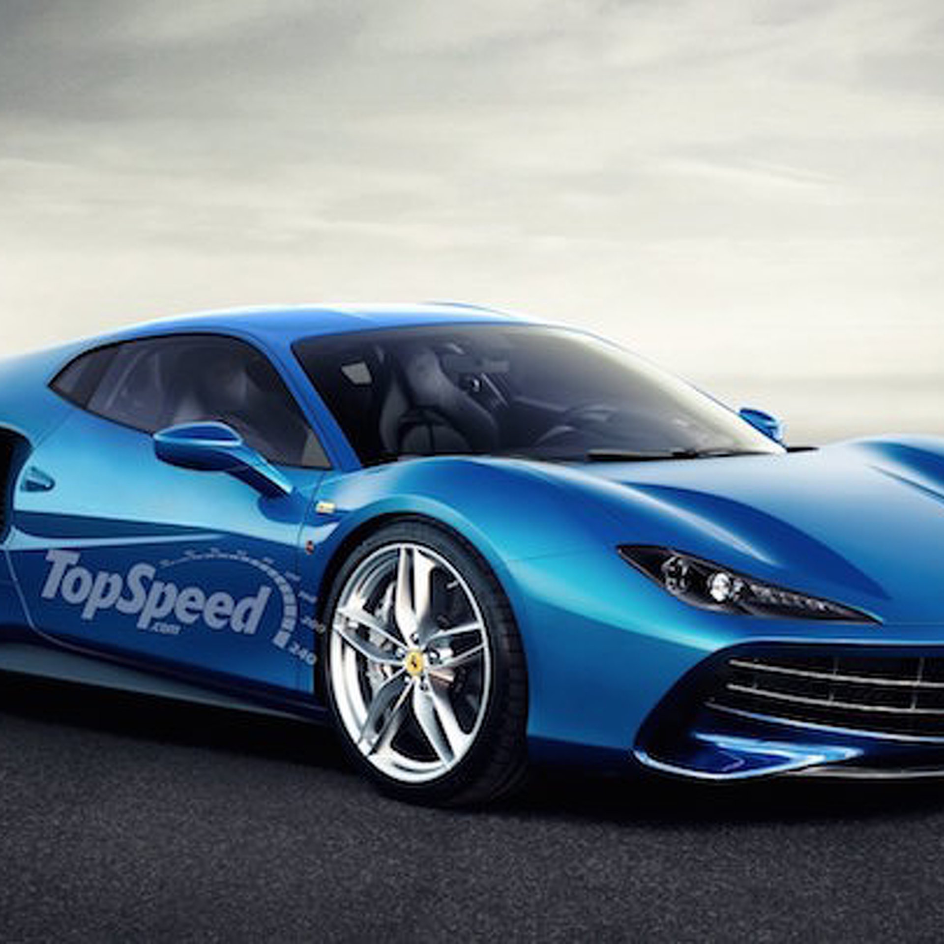 A Revived Ferrari Dino Could Carry A V6 and Some Beautiful Lines