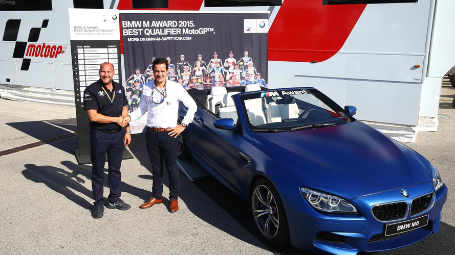 BMW unveils a unique M6 Convertible for the 2015 MotoGP best qualifier