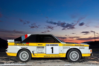 Wheels Wallpaper: 1985 Audi Quattro Group B Rally Car