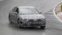 2018 Audi A8 spy photos from the Nurburgring